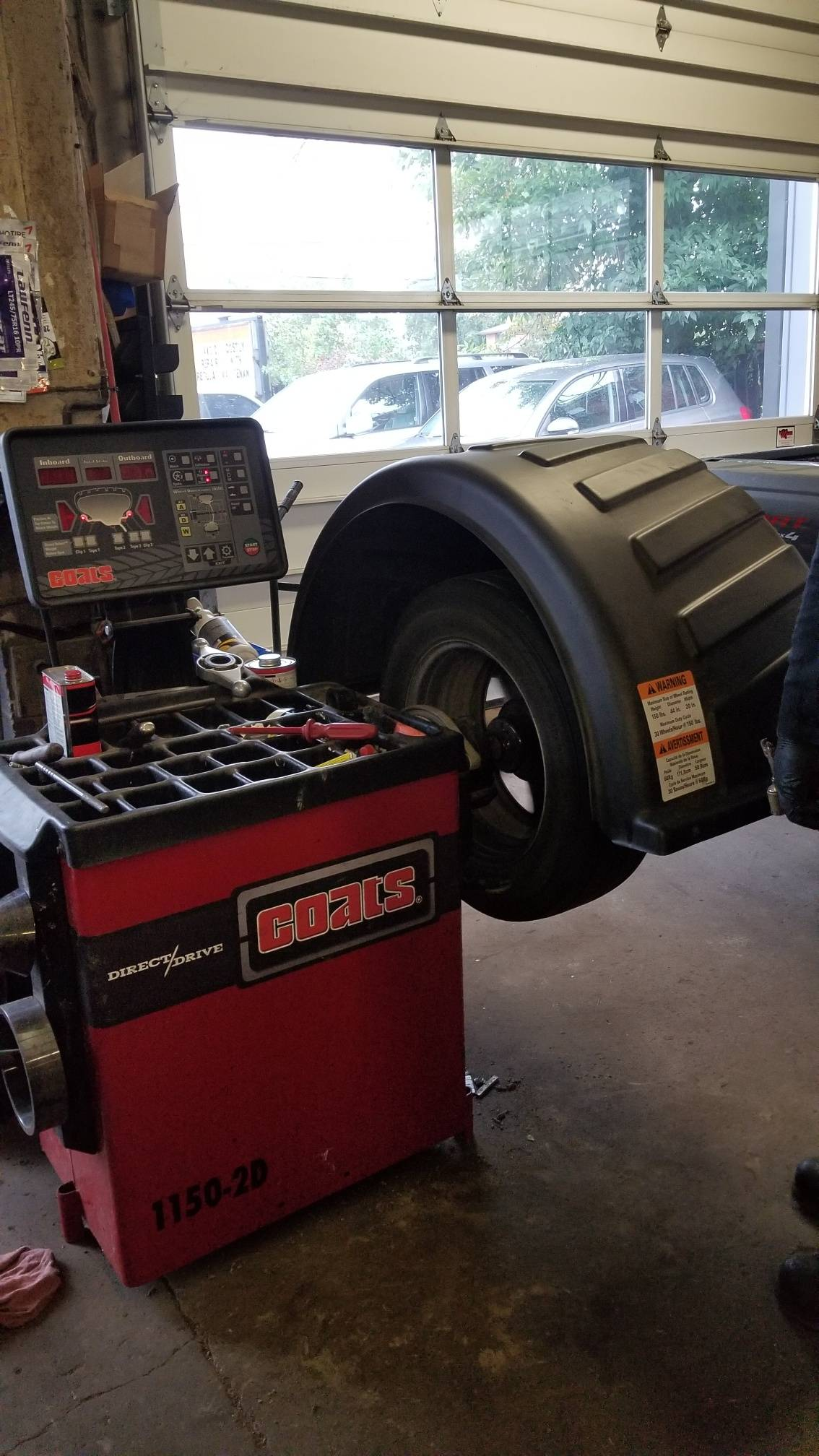 tire repair machine