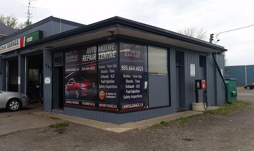 automotive repair garage